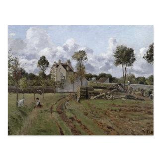 Pontoise Landscape, c.1872 Postcard