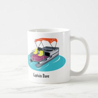 Pontoon Boat Personalised Coffee Mug