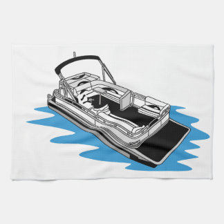 Pontoon Tea Towel