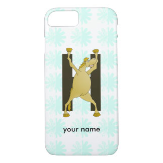 Pony Alphabet Monogram H iPhone 7 Case