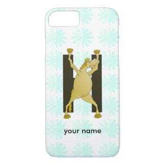 Pony Alphabet Monogram H iPhone 7 Case