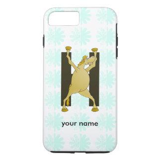 Pony Alphabet Monogram H iPhone 7 Plus Case