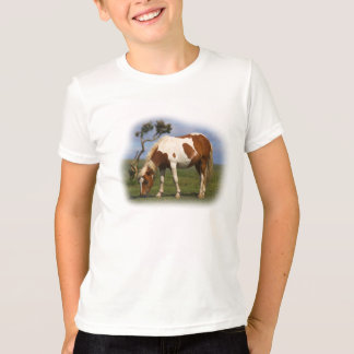 Pony And Lone Gorse kids ringer t-shirt