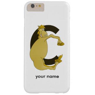 pony C monogram Barely There iPhone 6 Plus Case