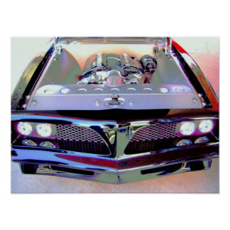 Pony Car Many Horses Print