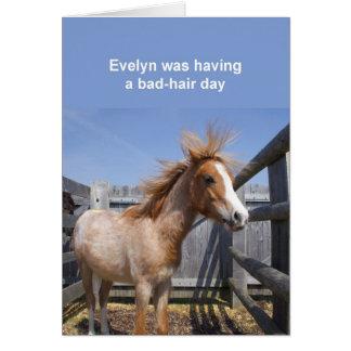 Pony card