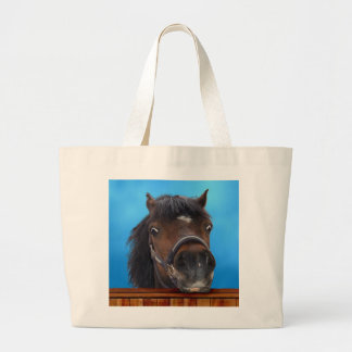 Pony,. Cheeky head study.customise me! Jumbo Tote Bag