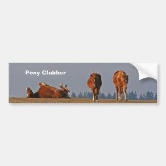 Pony Clubber bumper sticker