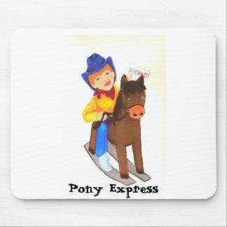 Pony Express Mousepad