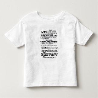 Pony Express, Nine Days Toddler T-Shirt