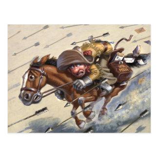 Pony Express Postcard