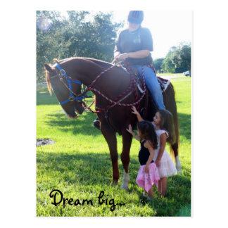 Pony Girls Postcard
