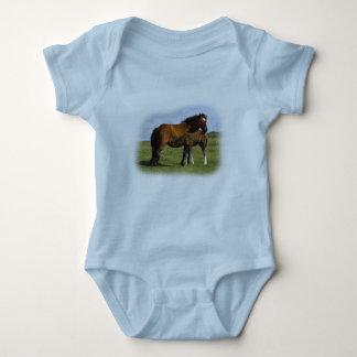 Pony Mare Feeding Foal infant creeper