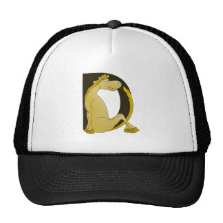 Pony Monogram D Trucker Hat