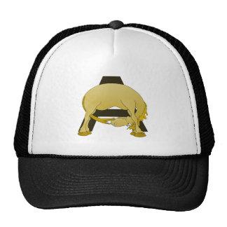 Pony Monogram Letter A Trucker Hat