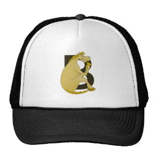 Pony Monogram Letter B Trucker Hat