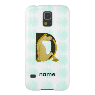 Pony Monogram Letter D Galaxy S5 Case