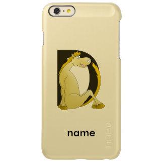 Pony Monogram Letter D Personalized Incipio Feather® Shine iPhone 6 Plus Case