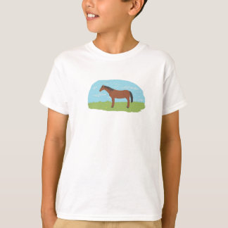 Pony on a t-shirt