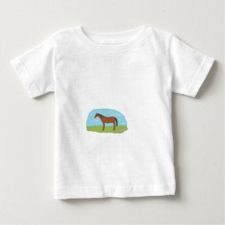 Pony on childs clothing baby T-Shirt