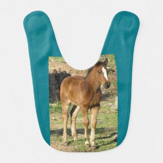 """Pony pony"" Baby Bibs"