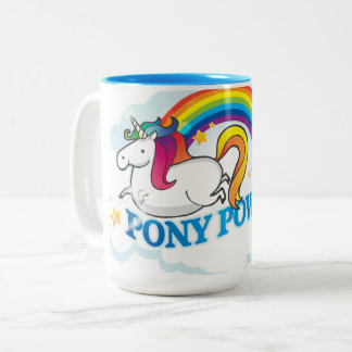Pony Power Unicorn Mug