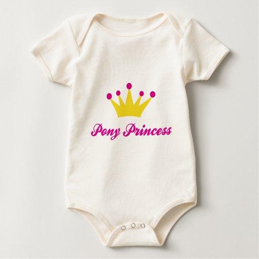 Pony Princess Baby Bodysuit
