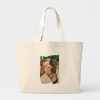 Pony Profile Canvas Bag