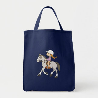 Pony Rider Tote Bag