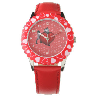 Pony with Heart Wrist Watch