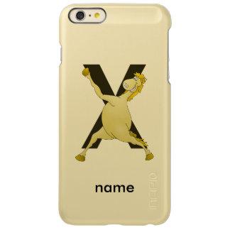 Pony X Personalized Monogram iPhone 6 Plus Case