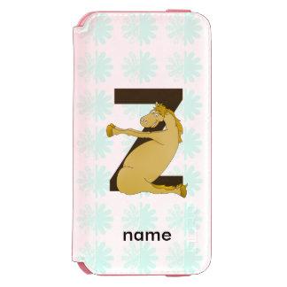 Pony Z Personalized Monogram Incipio Watson™ iPhone 6 Wallet Case