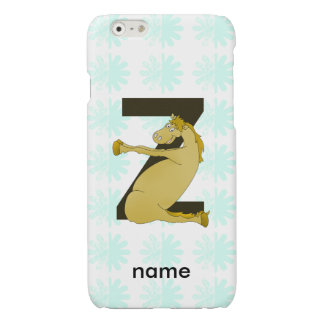 Pony Z Personalized Monogram iPhone 6 Plus Case