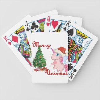 Ponychristmas Bicycle Playing Cards