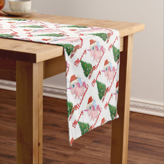 Ponychristmas Short Table Runner