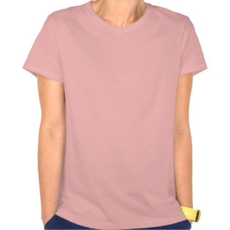 Ponytail and camisole tee shirts