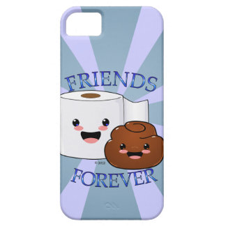 Poo and Toilet Paper BFFS Case For The iPhone 5