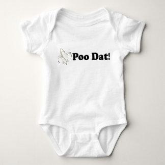 Poo Dat Who Dat Baby Bodysuit