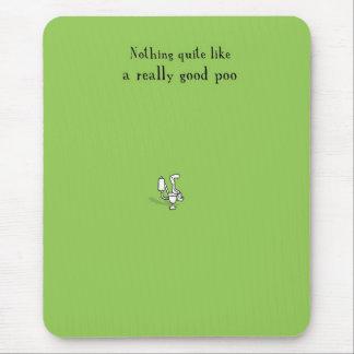 Poo mousmat mouse pad