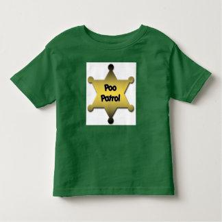 Poo Patrol Badge T Shirts