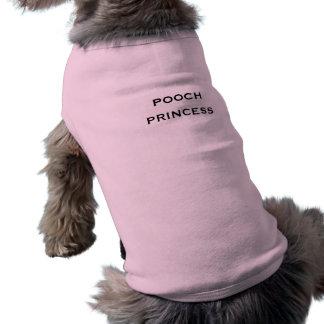 Pooch Princess Funny Cute Girl Dog Name Shirt