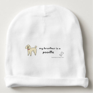 poodle baby beanie
