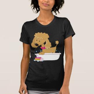Poodle Bath T Shirt