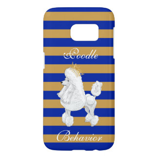 Poodle Behavior Samsung Phone Case