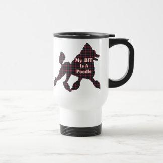 Poodle BFF Gifts Travel Mug