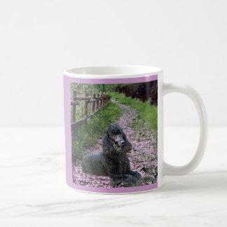 Poodle Black Heartbeat Mug