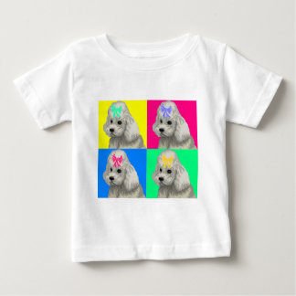 Poodle Bright Collage 2 Baby T-Shirt