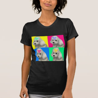 Poodle Bright Collage 2 Tee Shirt