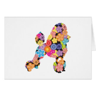 Poodle Greeting Cards