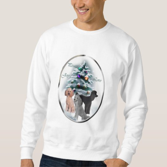 Poodle Christmas Gifts Sweatshirt